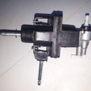 Đầu quạt 12v DC motor 545 ( có túp năng đảo hướng ,có cốt, trục trước, trục sau)