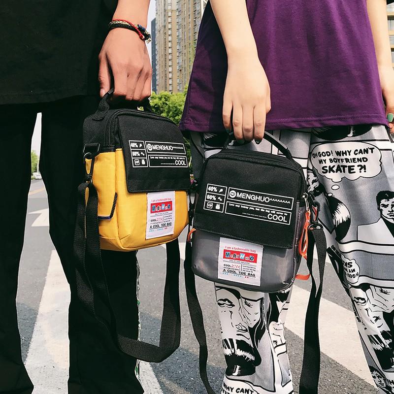 Ins street shoot small bag female student Korean version ulz