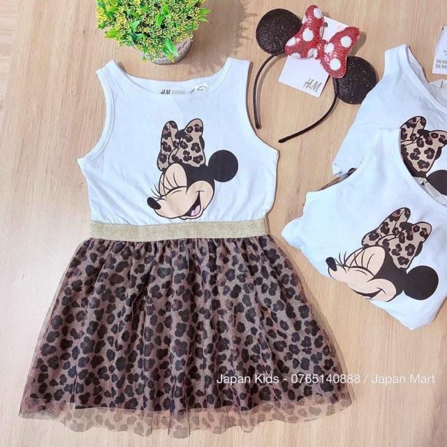 Váy Mickey Auth H&M 18-24M