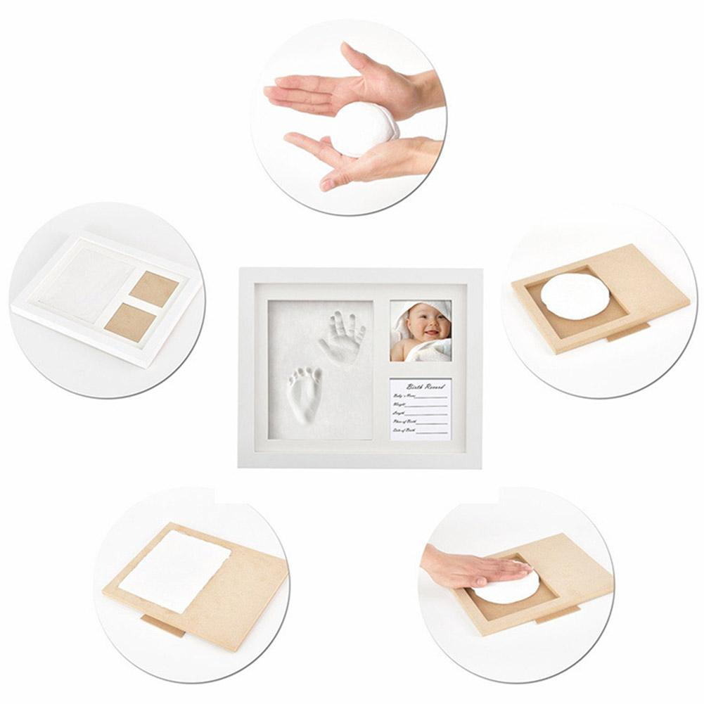 Non-toxic Souvenirs Baby Imprint Casting Handprint Kit Footprint Gifts Infant