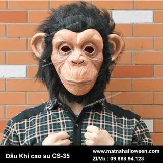 Mặt nạ cao su mặt khỉ CS-35-k28 _rẻ free