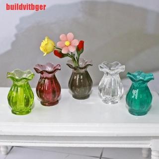 (DHN-COD)Dollhouse Miniatures 1:12 Mini Ceramic Pot DIY Ceramic Ornament Decora vase