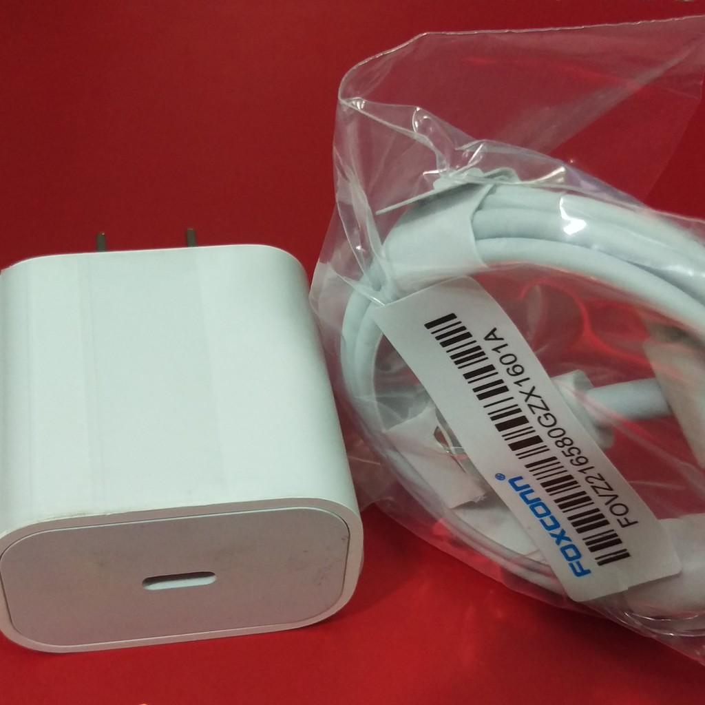 Sạc Nhanh Adapter Dành Cho iPhone X XS 11 11Pro Max Sạc iPad USB-C - Hàng Nhập khẩu