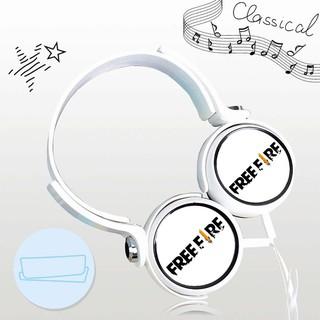 Tai nghe game FREE FIRE thiết kế thông minh cá tính cắm dây có mic anime chibi