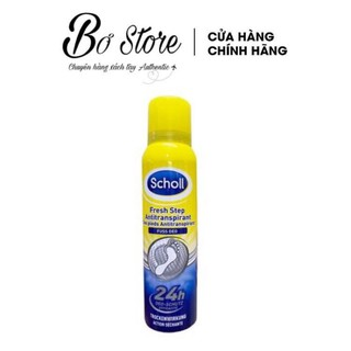 Xịt Khử Mùi Hôi Chân Scholl 150ml Đức