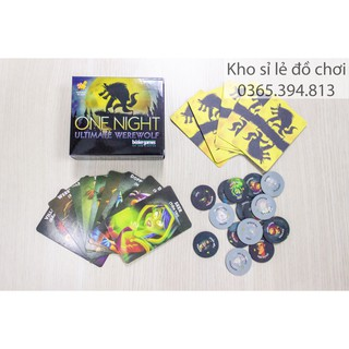Ma sói One Night (Tiếng Việt) - Boardgame One Night Ultimate Werewolf thumbnail