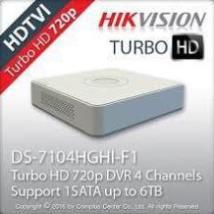 [7104HGHI-F1]Đầu ghi hình HIKVISION HD-TVI 4 kênh TURBO 3.0 vỏ nhựa