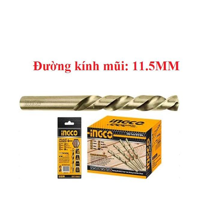 Mũi khoan kim loại HSS DBT1101153 (Ingco)