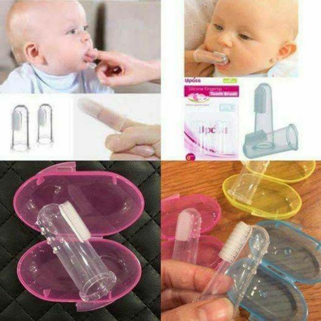 Dụng cụ tưa lưỡi an toàn cho bé