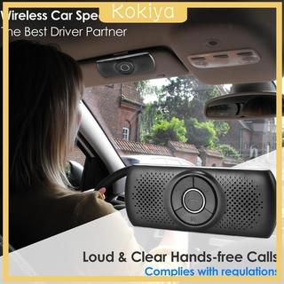 [KOKIYA]Portable Loud Speakerphone Wireless Multifunction Car Speaker for Sun Visor