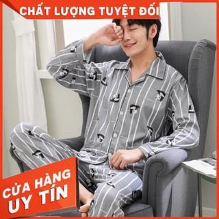 [ Hàng order] bộ pijama nam chất cotton cao cấp