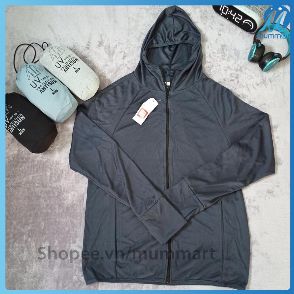 [GIÁ HỦY DIỆT] Áo khoác chống nắng nam, áo khoác nam có mũ, áo khoác chống tia UV. Áo khoác uni (ao khoac chong nang)