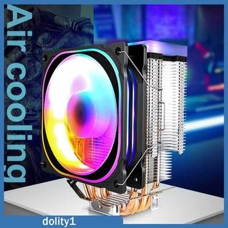 Quạt Tản Nhiệt Cpu Rgb 12v Cho Intel Lga1156 / 1155 / 775 / 1366 Amd