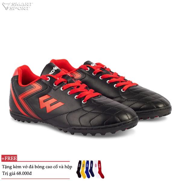 Combo Giày đá bóng Prowin FX đen và 2 đôi vớ cao cổ - nhà phân phối chính từ hãng