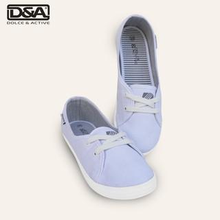 Giày slipon bé gái D&A EPG1928 Trắng thumbnail