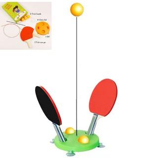 Bộ đồ chơi bóng bàn phản xạ cho bé và gia đình [hàng mới hot]