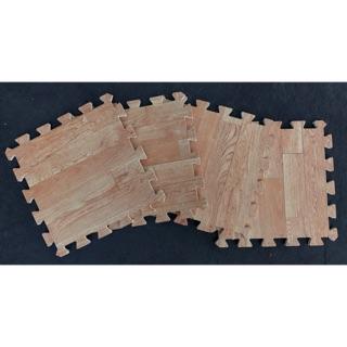 [Thanh Lí New] 20Thảm xốp ghép giả gỗ size 30cm x 30cm