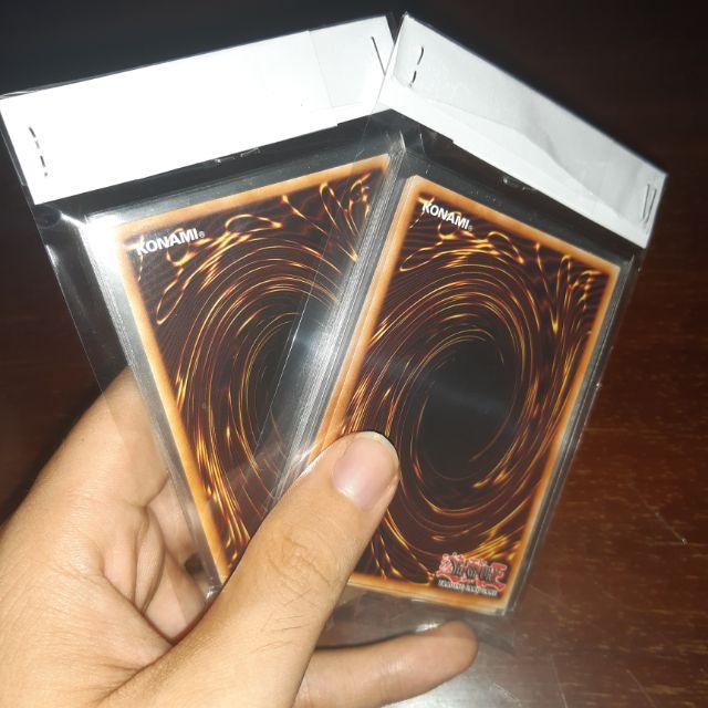 Gói 10 lá bài Yugioh chính hãng ngẫu nhiên - Thẻ bài do Konami sản xuất - Tặng kèm sleeve bọc bài