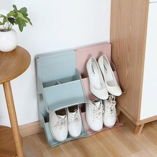 Stackable Layered Shoe Rack Creative Storage Shelf Plastic Shoes Storage Rack