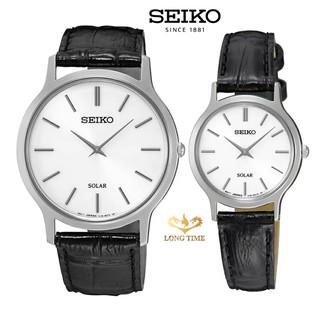 Đồng hồ Đôi Seiko SUP873P1 & SUP299P1 mặt kính Hardlex Crystal pin nặng lượng mặt trời trẻ trung quý phái