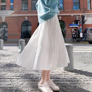 (ORDER) Chân váy xòe dài bồng bềnh vintage trẻ trung nữ sinh Hàn Quốc