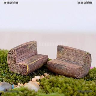 Mô hình ghế dài mini dùng trang trí cho đồ chơi nhà búp bê thumbnail