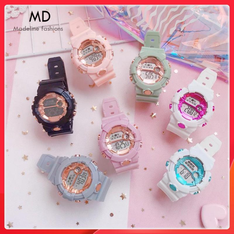 Đồng hồ điện tử nam nữ SPORT AOSUN kiểu dáng thể thao, đầy đủ chức năng, chống nước tốt ( Mã: AAS01 )