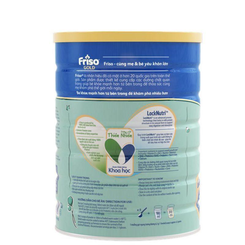 Sữa bột FRISO GOLD 4 - hộp 1500g (1.5kg) cho bé từ 2 đến 4 tuổi