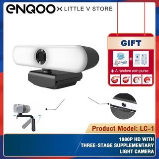 Webcam 1080p Hd Kèm Mic Ba Chế Độ Cho Máy Tính Laptop Enqoo Lc-1
