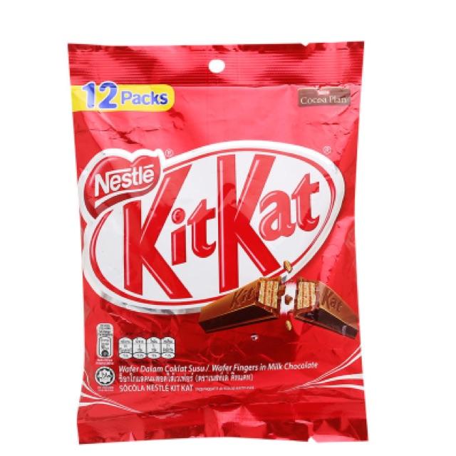 Bánh sô cô la KitKat Nestlé gói 12 thanh x 17g - 2518588 , 414812070 , 322_414812070 , 85000 , Banh-so-co-la-KitKat-Nestle-goi-12-thanh-x-17g-322_414812070 , shopee.vn , Bánh sô cô la KitKat Nestlé gói 12 thanh x 17g