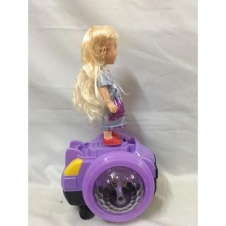 Đồ chơi công chúa elsa xe trượt có đèn phát nhạc