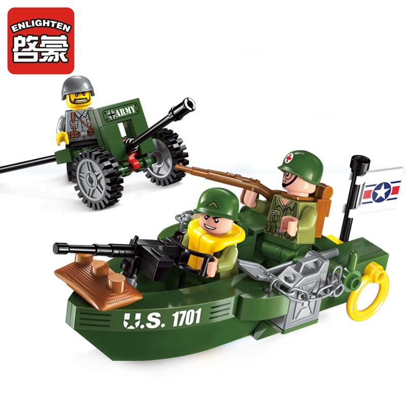 Lego Enlighten Đội xe quân sự 1701 - 99 chi tiết