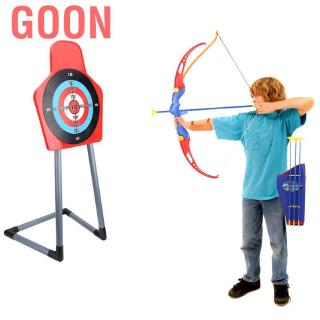 Goon Children Archery Set Bow With Arrow Safe Shooting Game for Garden Park Fun Toxophily Kids Toys