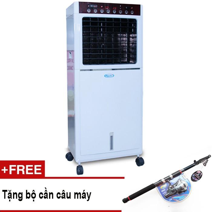 Quạt làm lạnh không khí Kachi ESC 20PC + Tặng bộ cần câu máy 2m1