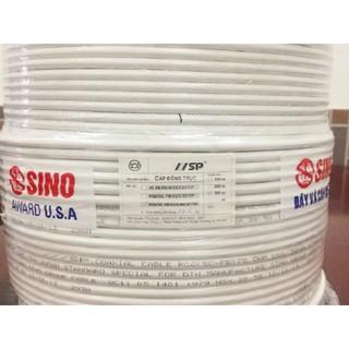 Dây cáp anten tivi SINO/SP ( cáp đồng trục ) -  Cuộn/305m