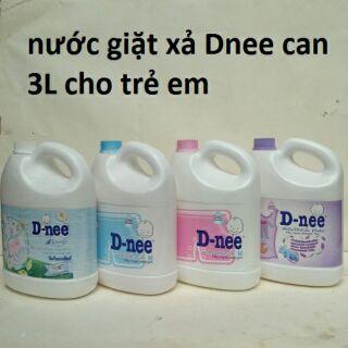 Nước giặt Dnee 3000ml Đủ màu ( Tem Cty Đại Thịnh )