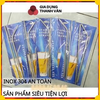 Set ống hút inox 304- 21.5 6cm thumbnail