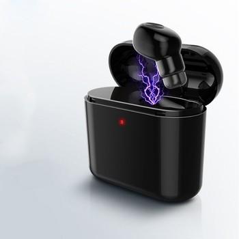 Tai nghe Bluetooth mini tặng dock sạc pin cực trâu