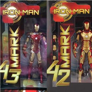 mô hình nhân vật iron man mark43 mk42 cao cấp