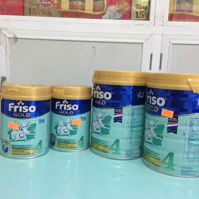 Sữa Friso Gold 4 loại 400g/900g dành cho trẻ 2-4 tuổi Date 2021