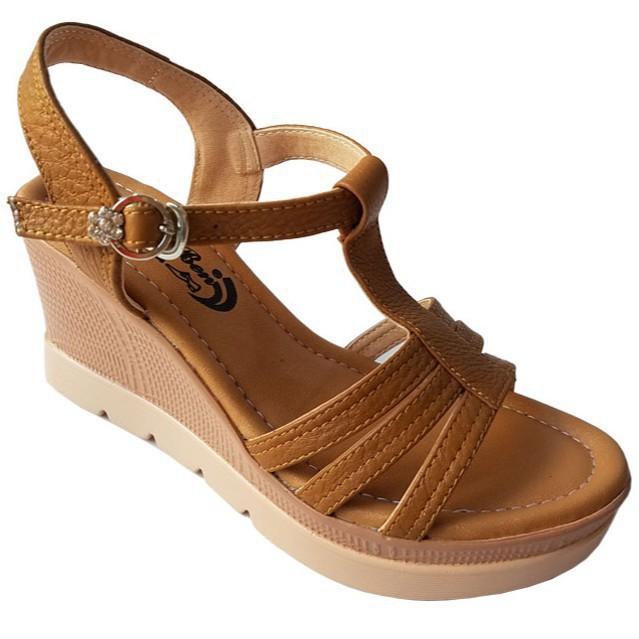 [Sale 3/3]Giày sandal xuồng nữ BIGGBEN da bò thật cao cấp HKD047 -pi9