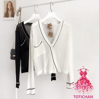 Áo khoác nữ cardigan len TOTA AK03 thumbnail