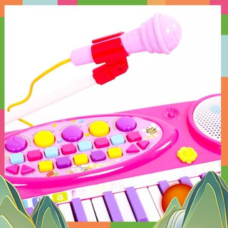 Đàn Organ điện tử kèm Micro cho bé yêu phát triển trí não t Cao Cấp