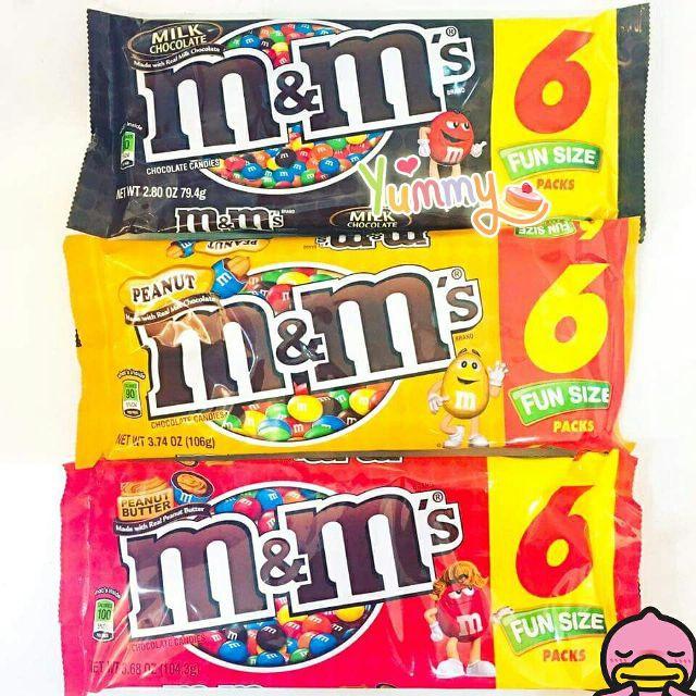 Sô cô la M&M gói 6 packs- Mỹ - 3605725 , 1195622464 , 322_1195622464 , 65000 , So-co-la-MM-goi-6-packs-My-322_1195622464 , shopee.vn , Sô cô la M&M gói 6 packs- Mỹ