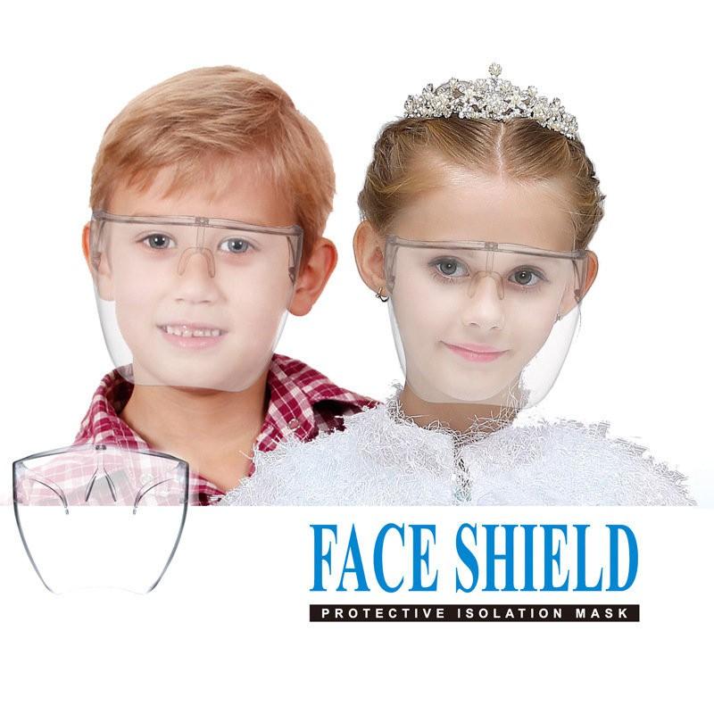 Kính bảo hộ mặt nạ chống giọt bắn, chống bụi an toàn cho mắt, bảo vệ sức khỏe FaceShield MẪU TRẺ EM