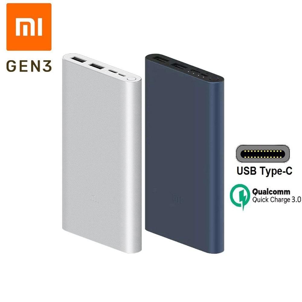[ CHÍNH HÃNG ] Sạc Dự Phòng Xiaomi 10000Mah gen 3 Sạc Nhanh QC 3.0 - BH 6 Tháng 1 đổi 1