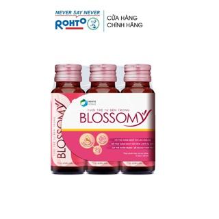 Thực phẩm bảo vệ sức khỏe giúp da sáng đẹp và dạ dày khỏe Blossomy lốc 03 chai x 50ml thumbnail