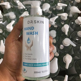 Gel rửa tay khô kháng khuẩn 99.99% DR.SKIN 300ml thumbnail
