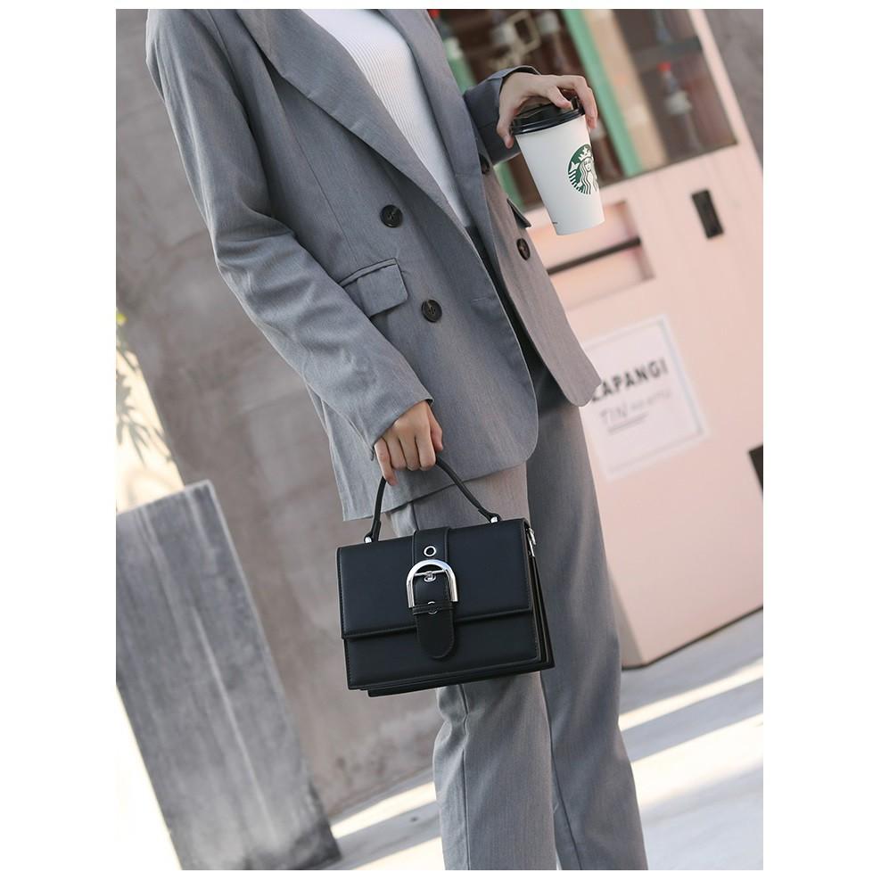 Túi xách nữ, túi đeo chéo thời trang then cài