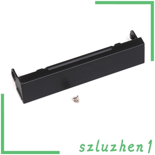 [Hi-tech] Laptop HDD Hard Drive Caddy Cover with Screw for Dell Latitude E6510 Black